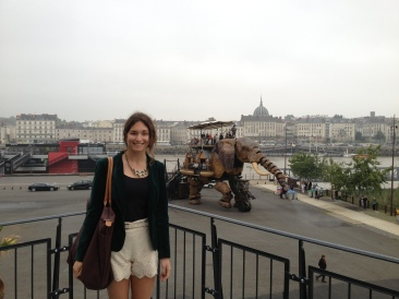 Nantes- yes that is a mechanical elephant.