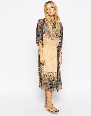 asos boho dress