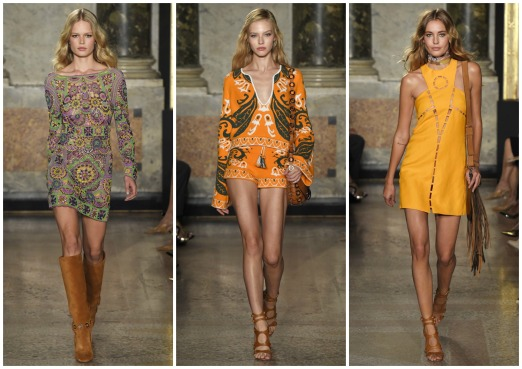 Emilio Pucci Spring/Summer RTW 2015. 70's vibes are strong.