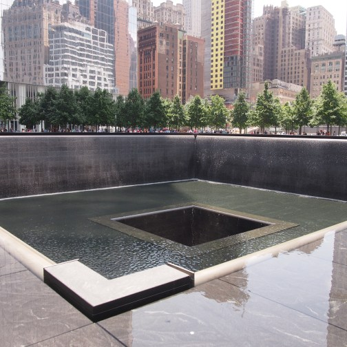 Memorial site of the Twin Towers
