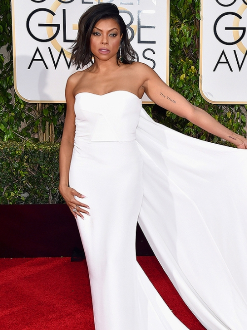 Taraji P. Henson wearing Stella McCartney