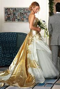 Final season wedding dress