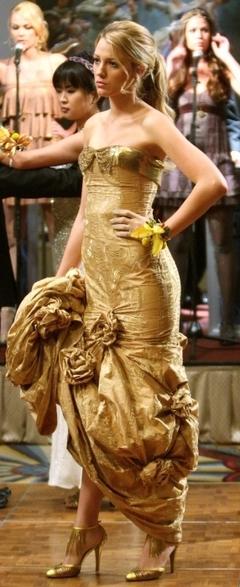 gold dress s 1